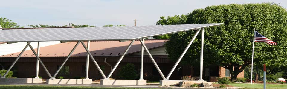 Holiday Shores Sanitary District Solar Panels Located at the Main Office